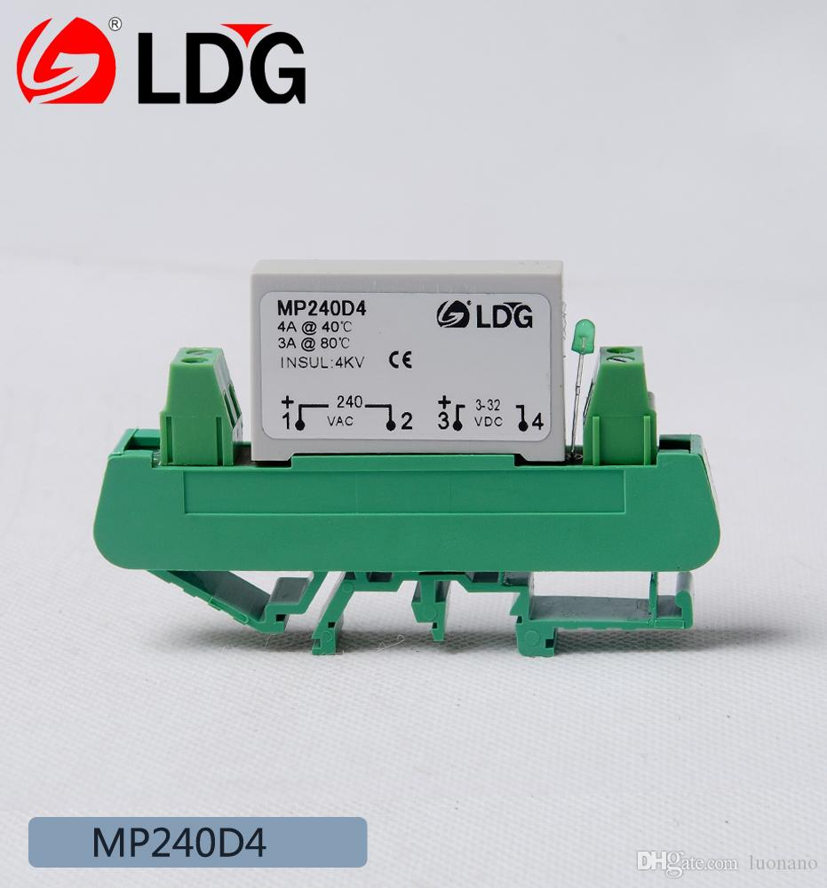 2018 Ldg Pcb Zero Cross Solid State Relay With Base Mp240d4 One Way Crydom Ac No Replacement Of Load Current 4a From Luonano 1115