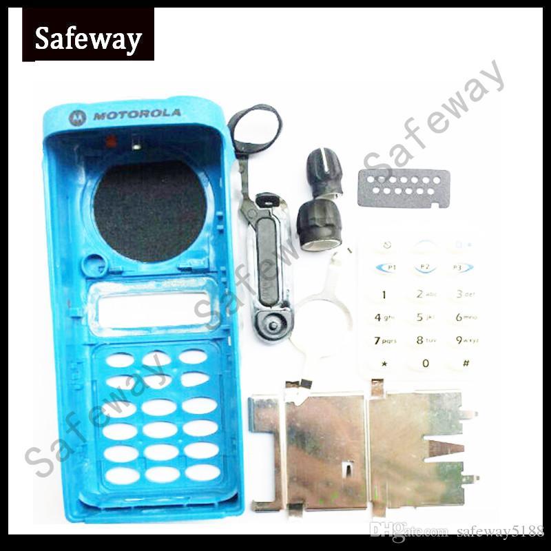 Cover custodia radio bidirezionale con manopole Motorola GP338 walkie talkie COVER accessori spedizione gratuita