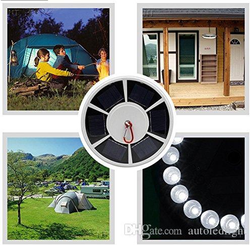 High bright 26 LEDs Solar Powered flag pole light 3w solar outdoor Garden Umbrella Landscape LED spot light