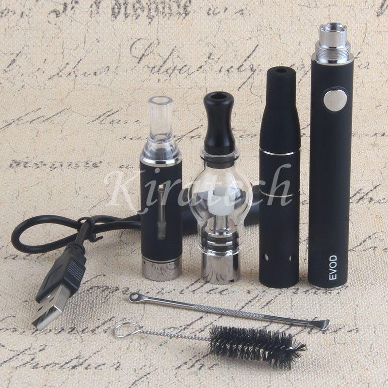 3 in 1 Vape pens dry herb 3in1 kit wax vaporizer mt3 e-liquid evod all in one vaping pen starter kits