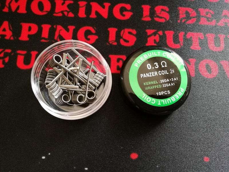 10 types Double Tiger Juggernaut Ctaircase prebuilt coil wire Panzer 1 2 3 4 # Staggered Taijin Fused premade wrap wires for vape rda