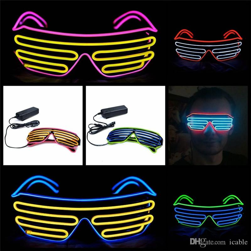 2 model el wire glasses light up grow led glasses led rh dhgate com With a 3 Way Switch Wiring Multiple Lights Fog Light Wiring