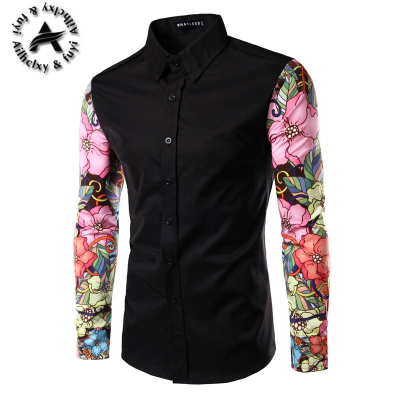 af160c5181a 2019 Wholesale Men Dress Shirt Hawaii Casual Fashion Turn Down Collar Social  Slim New Man Shirts Brand Clothing Camisa Masculina Chemise Homme From  Yanmai