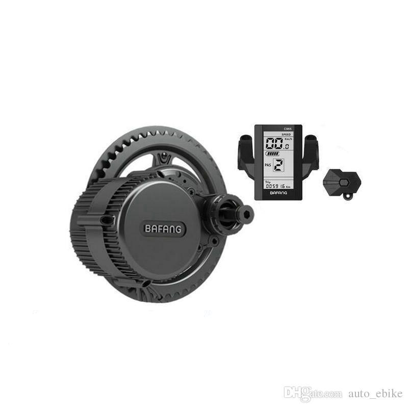 Bafang / 8fun Mid Drive 중앙 모터, 48V 750W BBS02B 최신 컨트롤러 크랭크 모터, Eletric 자전거 변환 Ebike 키트