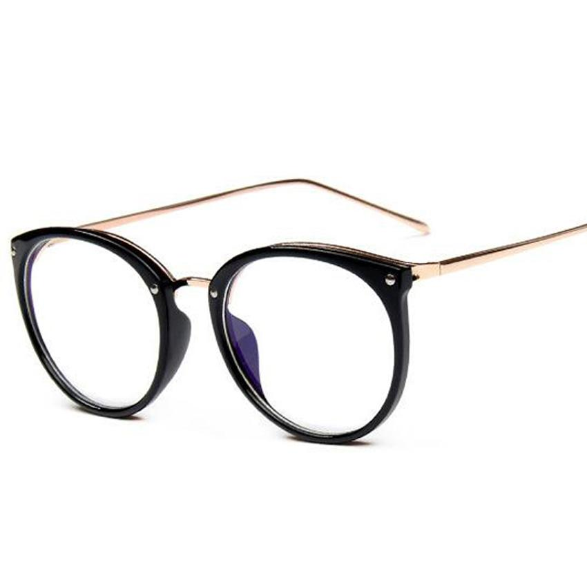 6e6979b75839 Wholesale- Fashion Women Eyeglass Frame Cat Eye Glasses Brand Design ...