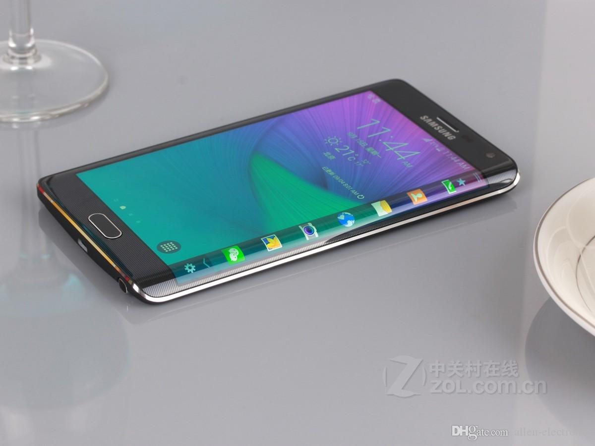 Refurbished Samsung Galaxy Note 4 Edge N915A N915T N915P N915V N915F Unlocked Cell Phone 3GB/32GB 5.6 inch Multi-Touch 16MP mobile phone