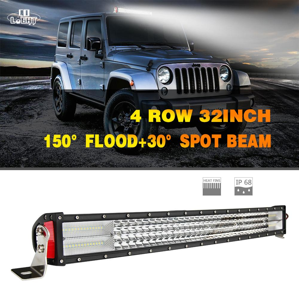 Led light bar 1x 564w 32 inch led chip 56400lm combo straight led led light bar 1x 564w 32 inch led chip 56400lm combo straight led strip for 4wd jeep ford toyota gaz uaz lada 4x4 best led work lights best portable work aloadofball