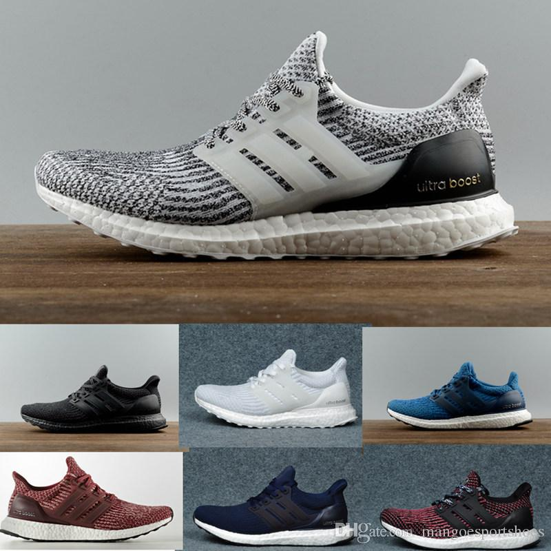 33b3d01690e Ultra Boost 3.0 4.0 Triple Black And White Primeknit Oreo CNY Blue Grey Men  Women Running Shoes Ultra Boosts Ultraboost Sport Sneakers Running Shop  Sneakers ...