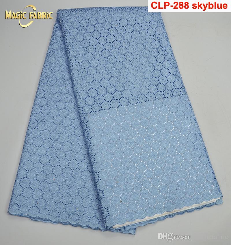 Высокое качество швейцарский вуаль кружева 2017 Африканский вуаль швейцарский кружевной ткани Африканский швейцарский хлопок вуаль кружевной ткани для одежды CLP-288