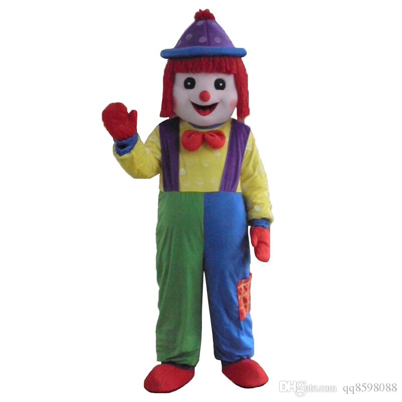 the clown mascot costume fancy dress interesting clothing animated