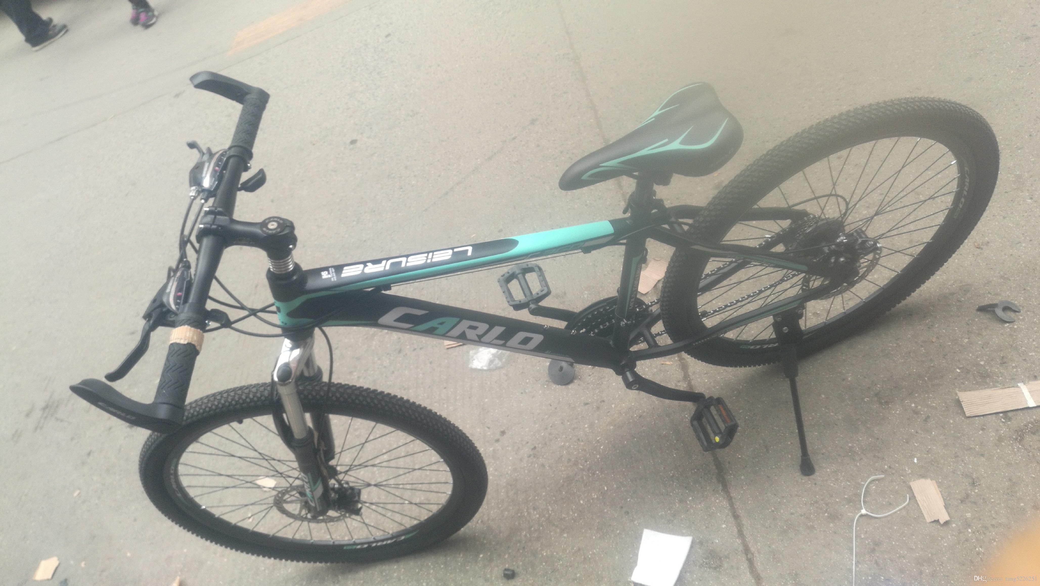 Modelo de bicicleta de montanha de liga de alumínio 26 polegada 21 velocidade esportes Ao Ar Livre mountain bike de alumínio essencial