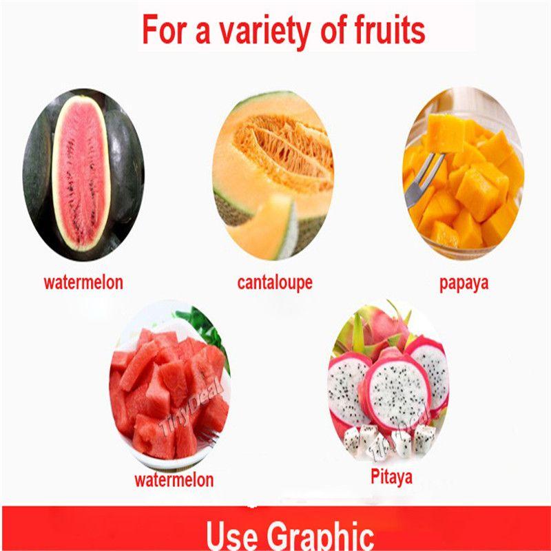 Stainless Steel Watermelon Slicer Knife Corer Melon Baller Cutter Server wholesale good price free shiping hot item