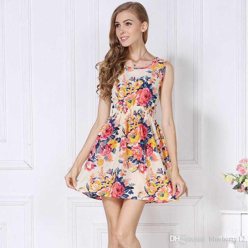 Newest Fashion Women Casual Dresses Plus Size Cheap China Dresses 24