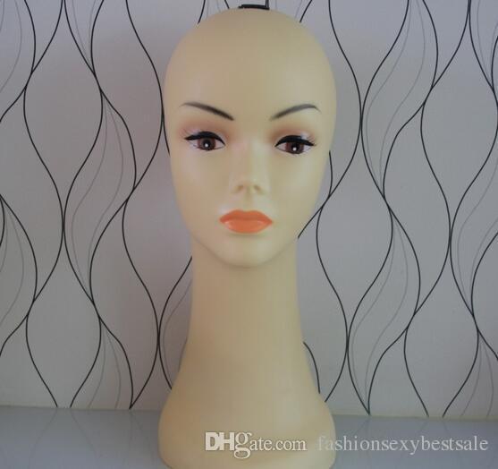 Livraison gratuite Femme tête mannequin cheveux mode tête de bijoux mannequin tete un coiffeur pour perruque, mahekebi topc mannequin-tête M00516