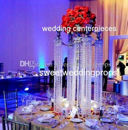 Künstliche Hochzeit Blumenarrangements stehen für Rose Bouquets Tischdekoration