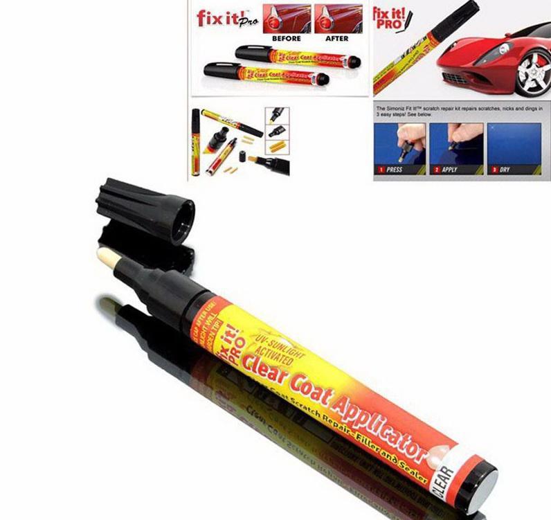 Heißer verkauf Magic Fix It Pro Auto Kratzerreparatur Entferner Füller Sealer Pen Klarlack Applikator Werkzeug, Nur für leichte kratzer