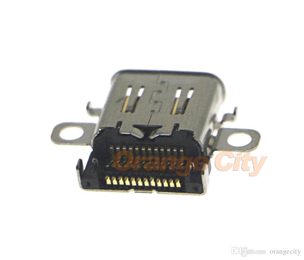 B Для коммутатора Новый оригинальный порт зарядки Разъем питания Type-C Разъем для зарядного устройства для коммутатора NS Console