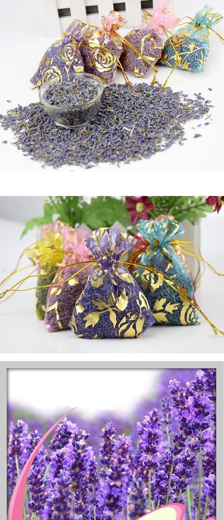 Natural Lavender Scented Fragrance Sachet Aromatherapy Automobile, Closets And Dresser Car Bedroom Air Freshener Sachet Sachets Present