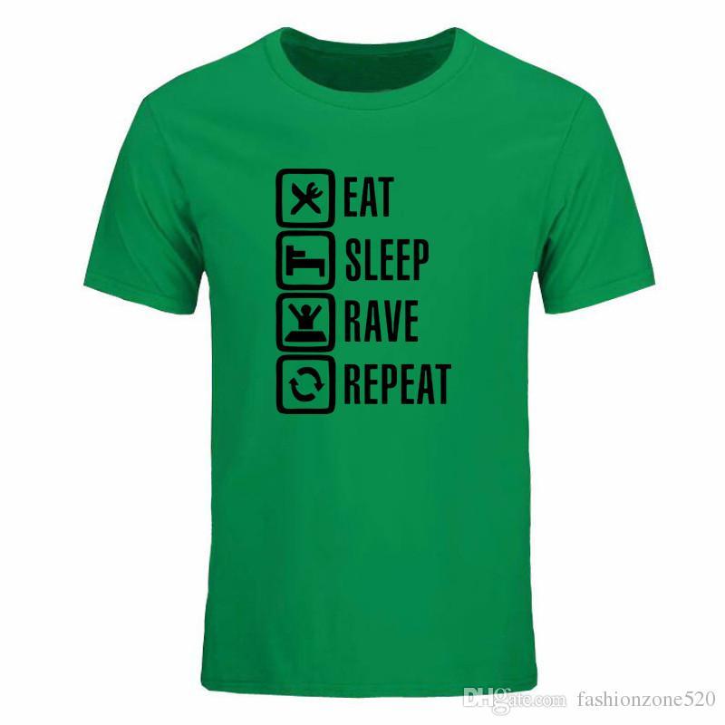 Yaz Komik dota 2 Yiyin Uyku Oyunu Erkekler T Shirt streetwear T-shirt pamuk Hip Hop drake tops Tee giyim tshirt Ücretsiz kargo DIY-0257D