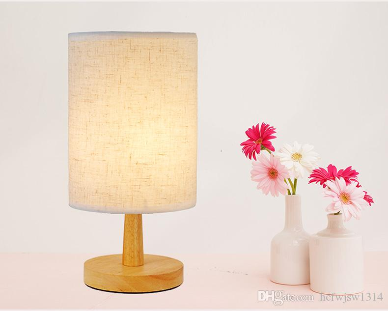 Bedroom bedside lamp modern simple eye protection student study lamp fashion creative personality table lamp dimming remote control