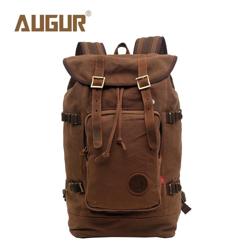 AUGUR Brand New Fashion Travel Backpack Women Mens Designer Backpack Retro  Canvas Leisure Laptop Backpack Men Shoulder Bag Laptop Bags For Women Travel  ... 8dab6fb578ba5