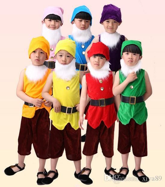 Seven Dwarves Etsy Source Snow White And The Dwarfs Costumes Stage Performance Apparel For Christmas Party Costume Themes