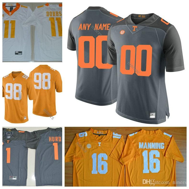 separation shoes 84907 9937c ncaa jerseys tennessee volunteers blank orange jerseys