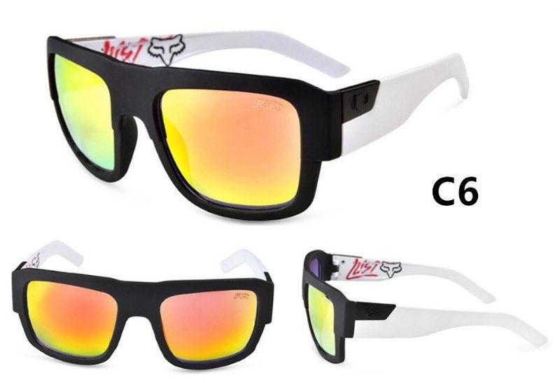 2017 neue Sport Männer Sonnenbrille FUCHS DECORUM Freien Schutzbrillen Großen Rahmen 12 Farben Günstige Großhandel Sonnenbrille Kostenloser Versand