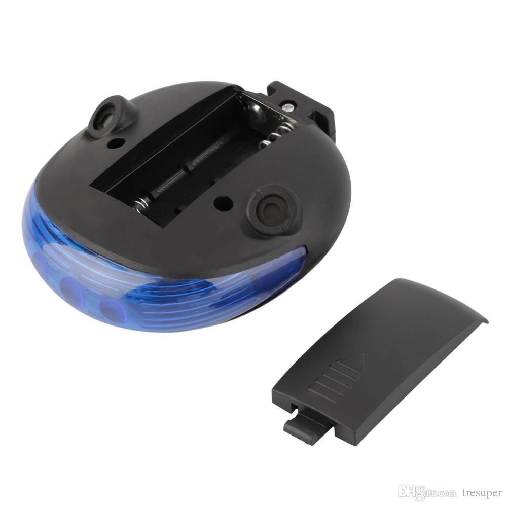 울트라 브라이트 사이클링 자전거 5 LED 전면 헤드 손전등 9 LED 후면 후면 플래시 조명 레이저 테일 라이트 자전거 램프 세트