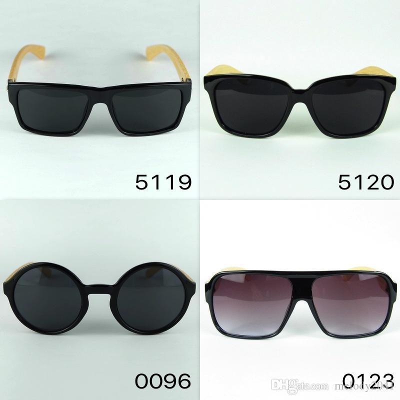 Logo Carved Custom Made Wood Sunglasses Square Black Designer ...