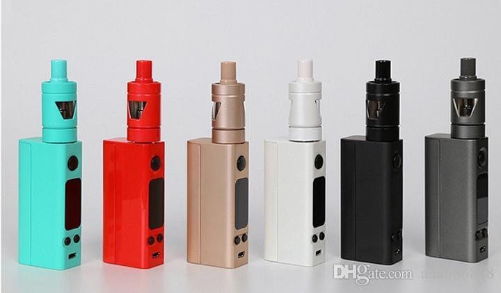 Ensemble de cigarettes électroniques 75 W pico grande puissance grande fumée vape stylos kits 18650 batterie atomiseur réservoir de vaporisateur de sécurité et de santé de haute qualité