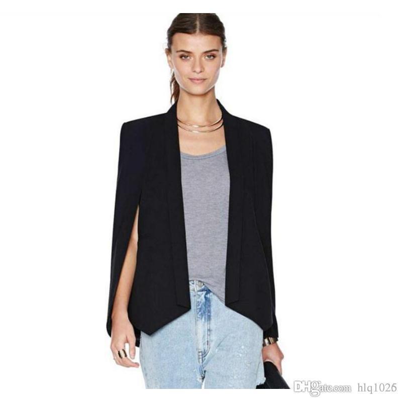 Blazer Sleeveless Summer Size Fashion For Vest Women Plus drP1Xrq