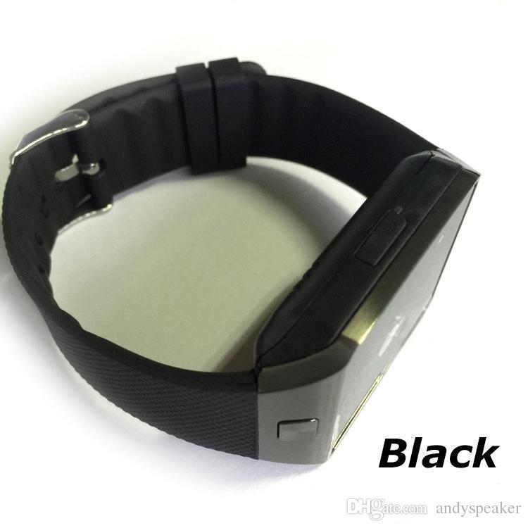 DZ09 Smart Watch Compatible avec le système IOS et Android Compatible SIM Card TF Carte-bracelet intelligente Sync de fréquence cardiaque
