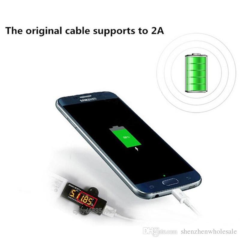 2 em 1 kits de carregadores de parede da UE eua carregador rápido casa adaptador de carregador de parede + original micro usb cabo de dados para samsung galaxy s6 carregamento rápido