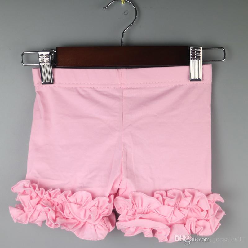 Ruffle Leggings Girl Icing Shorts Lovely Baby Comfortable