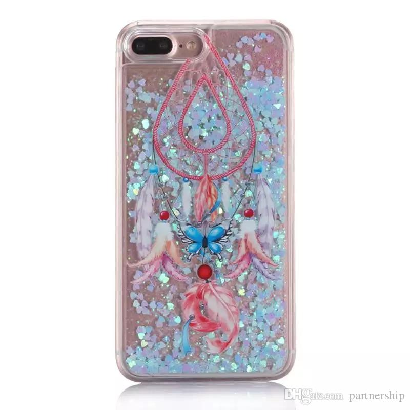 colorful dream catcher cover for samsung galaxy s6 s7 edge case forcolorful dream catcher cover for samsung galaxy s6 s7 edge case for iphone 6s 6 7 plus 5 5s se glitter flowing liquid quicksand phone cases ballistic cell
