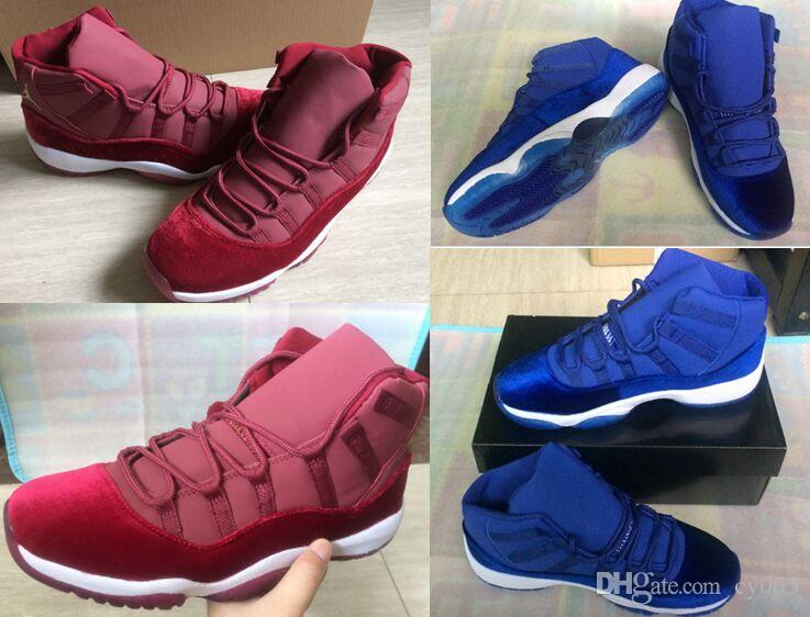 ... 11 Low Velvet Heiress Red Blue Mens Womens Basketball Shoes Athletics  Sports Shoes Discount Sports Women ... 1ee255d3f