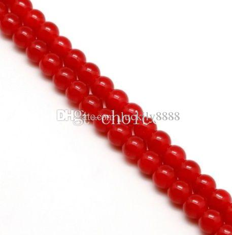 New mixed Round Crystal Glass Loose Spacer Beads For Jewelry Making 4mm 6mm 8mm