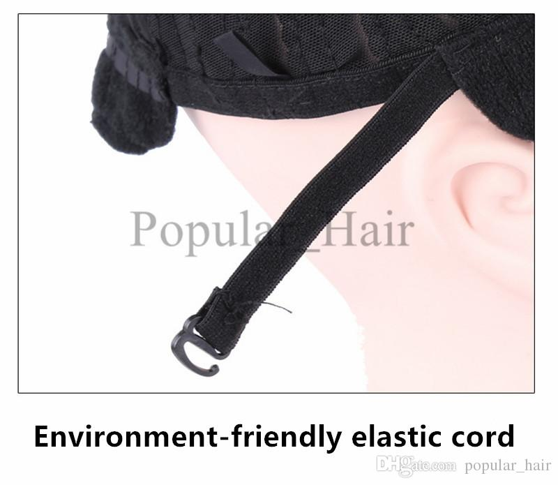 Top Quality Wig Caps For Making Wigs Cornrows Wig Cap Glueless Hair Net Wig Easier To Sew In cornrow Braided Cap For Weave