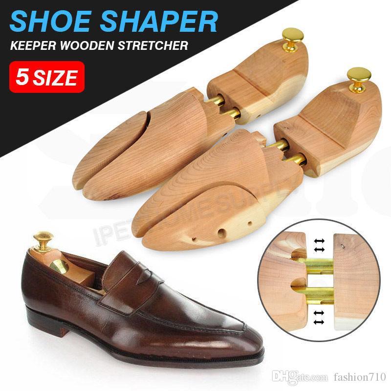 009fe9da06c87 Compre Ajustable Hombres Mujeres Cedro Madera Zapato Árbol Shaper Madera  Camilla Twin Tube A  19.77 Del Fashion710
