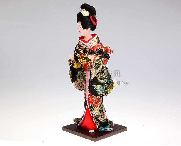 Spedizione gratuita Tang Fang kimono di seta decorazione decorazione decorazione artigianato Arredamento La Casa bambola umanoide