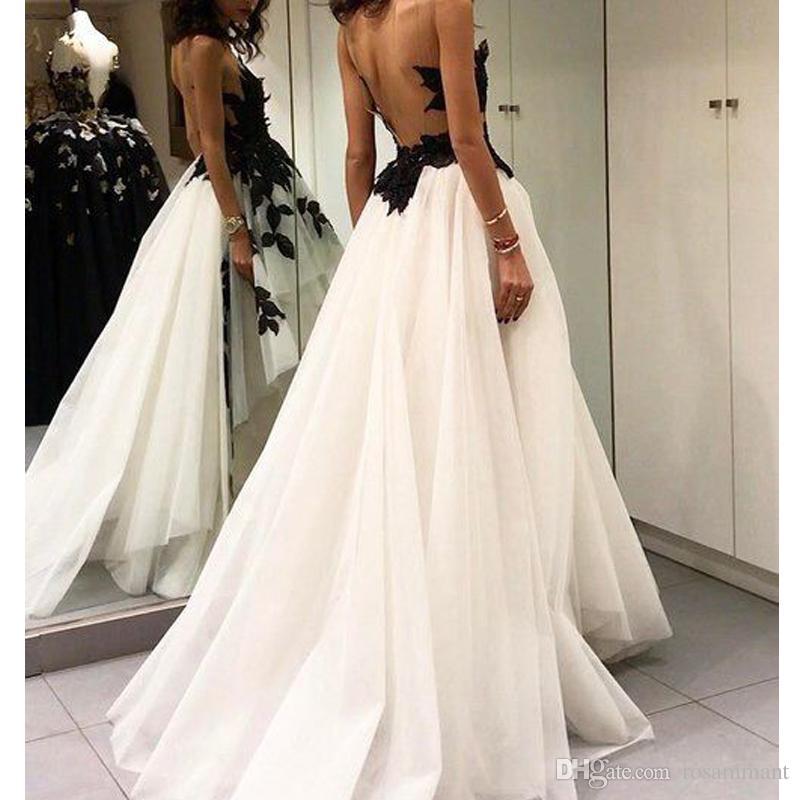 Новый Заказ Длинные Аппликации Платье Выпускного Вечера V Образным Вырезом Платье Выпускного Вечера Тюль Вечернее Платье Vestidos De Fiesta
