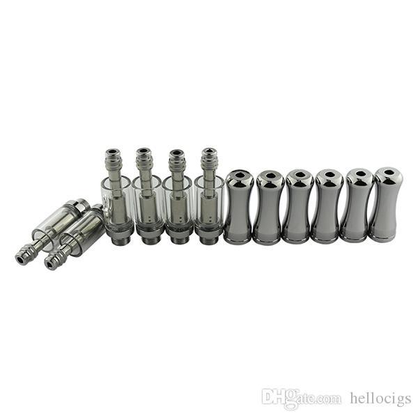 Pyrex cartucho de vidro CE3 vaporizador cartuchos de caneta para óleo grosso Vaporizador fit bud touch bateria DHL FRETE GRÁTIS