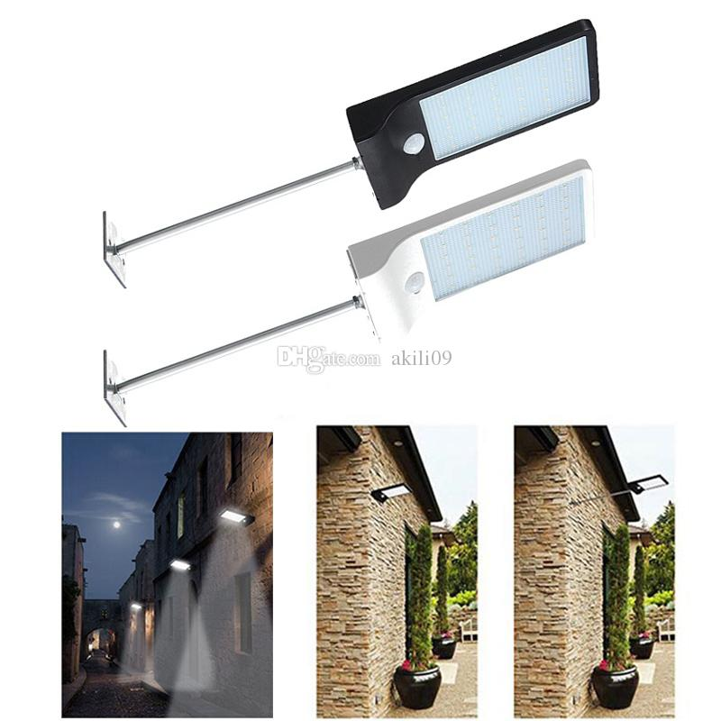 Best quality 450lm 36 led solar power street light pir motion sensor best quality 450lm 36 led solar power street light pir motion sensor lamps garden security lamp outdoor street waterproof wall lights with mounting pole at aloadofball Choice Image