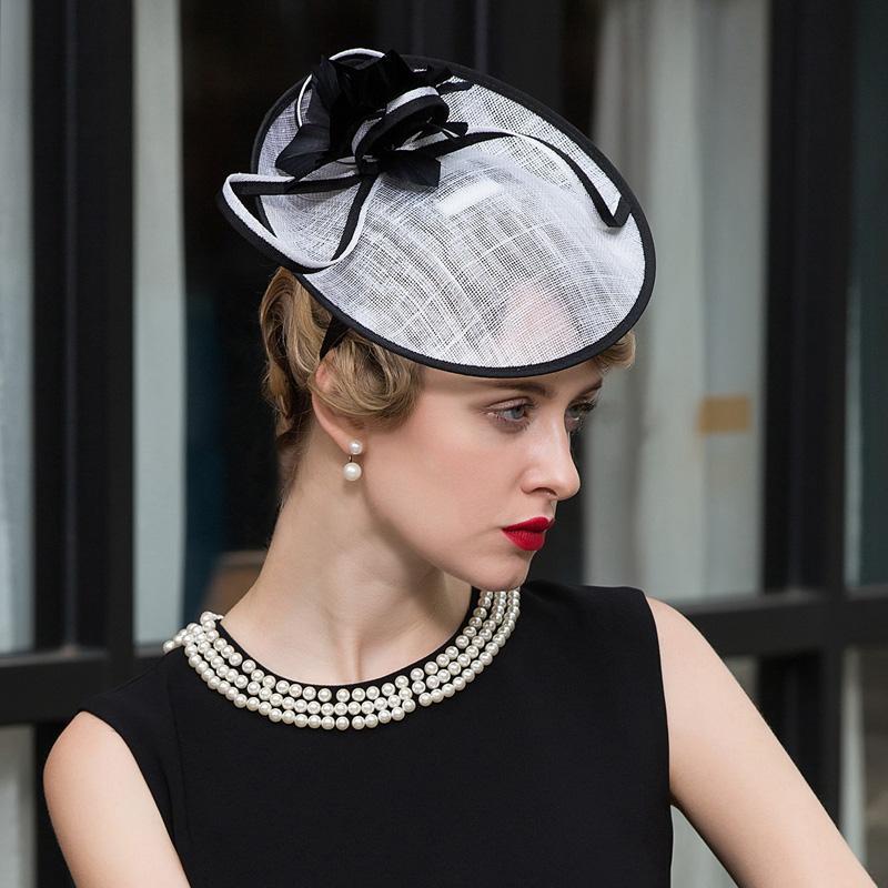 Acquista cappelli di cerimonia nuziale cappelli da sposa for Cappelli per matrimonio