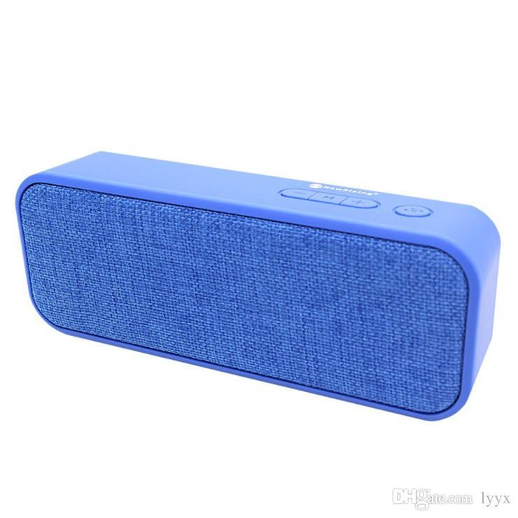 NR-2016 Altavoz Bluetooth 10W de alta potencia, placa base con Boost Fabric Bluetooth Altavoz portátil Tarjeta de mano Mini altavoz
