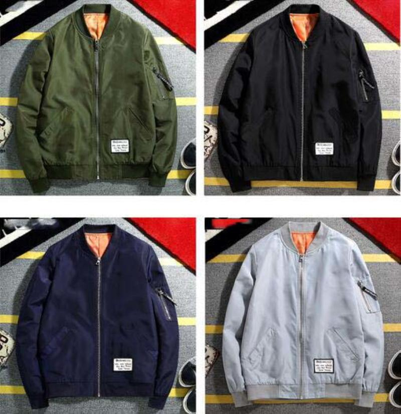 Men's Clothing Fashion Thin Mens Jackets Hot Sell Casual Wear Korean Comfort Windbreaker Autumn Overcoat Necessary Spring Men Coat M-3xl Ml097