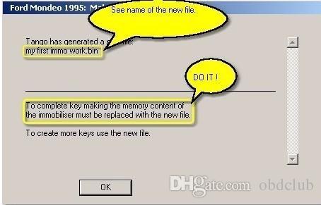 Logiciel de base original Tango Key Programmer V1.107.7 avec autorisation de puce Daihatsu G gratuite Programmeur TANGO Key
