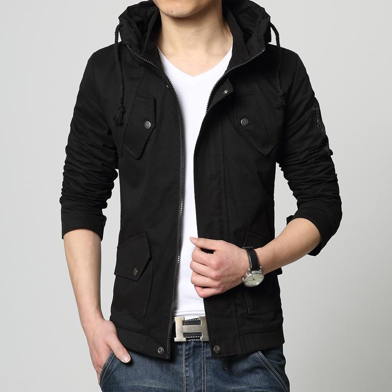 ad9e5355359f Wholesale 95% Cotton 2015 New Brand Spring Summer Casual Outwear Men Jacket  Mens Jackets And Coats Army Windbreaker Mens Overcoat 5XL JK01 Jean Coat  With ...