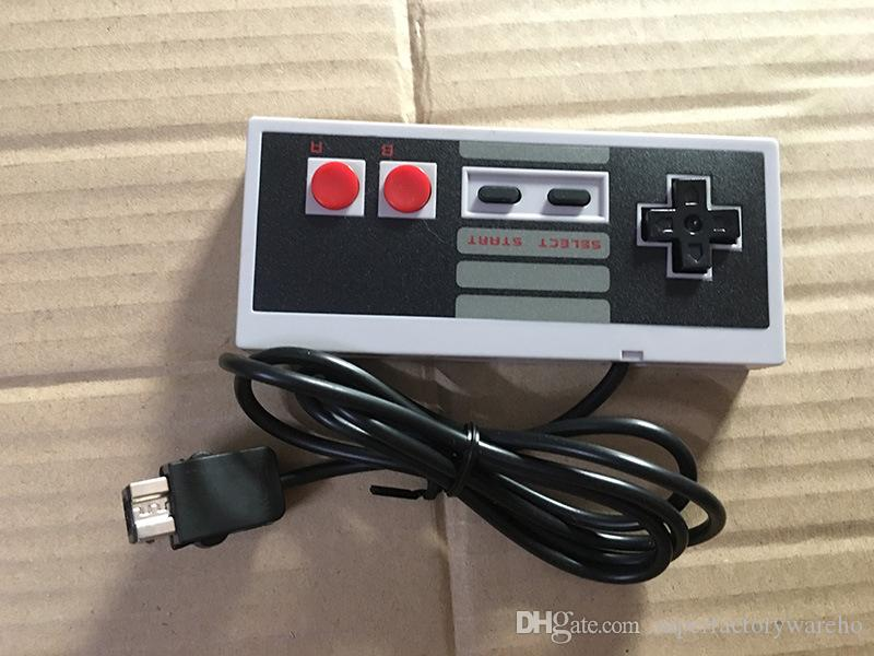 Mini NES TV game console handheld game console dual game controller AV cable output more than PXP3 PVP with retail box